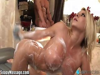 Soapymassage Milf Madison Ivy Gets Soap Everywhere