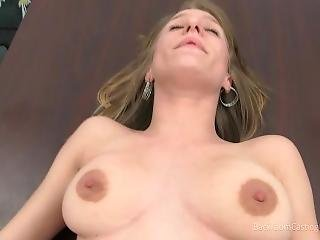 Kimmie Backroom Casting Couch - Full Length