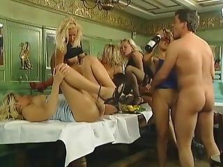 cumshot, avrunkning, hårdporr, orgie
