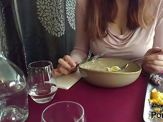 Nice Date : Restaurant Then Various Positions Tittyfuck And Cumshot