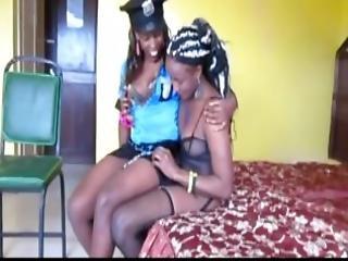 アフリカン, 大きなおまんこ, ドレス, 漆黒の, レズビアン, ランジェリー, ナチュラル, ナチュラルおっぱい, おまんこ, ストッキング, ユニフォーム