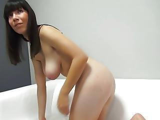 Shy Czech Brunette Big Tit Casting By Eliman