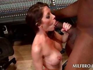 Milf Turns Into A Dirty Hoe With A Black Dick