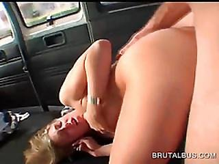 Tattooed Blonde Has The Fuck Of Her Lifetime