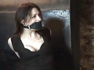 Kali Cuffed And Panel Gagged