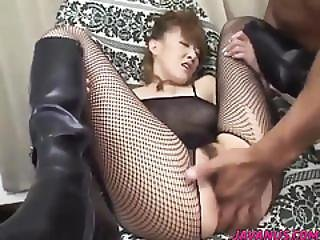 Dazzling Aya Fucks In Different Poses And Takes A Messy Facial
