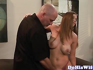 Bigtit Wife Cockriding In Cuckold Session
