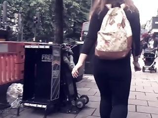 Candid Walk 1 - Bubble Butt Teen (part 2)