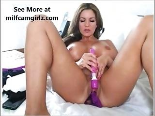 Milf Fucking Herself With Dildo