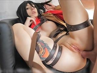 Cosplay Mikasa Sex