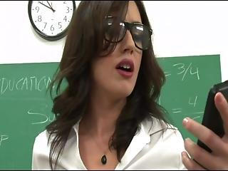 6 Men Give The Teacher Double Vaginal And Anal Fyff