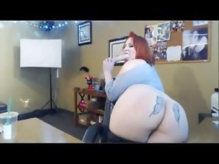 Hottest Redhead Bbw Dildo Fucks Herself Wearing Nimple Clamps - Wetslutcams.com