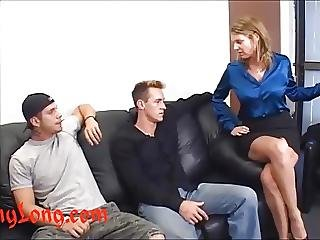 Donny Long Gives Huge Cock Anal To Kayla Quinn And A Dp