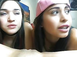 2 Teen Girls Licking 1 Teen Pussy On Sexowebcam Online