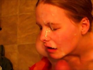 Hesitant Amateur Gets Squirted With A Powerful Facial