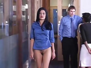 Bottomless Secretary Full Length Best Quality Naked News Promo