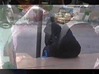 Arab Street Voyeur - Big Butt Candid - Spying Mat