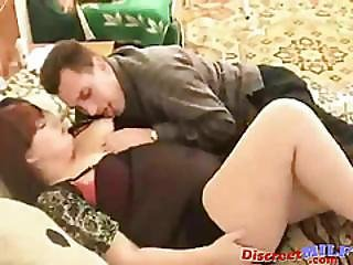 Fat Ass Russian Milf Having Hardcore Sex