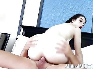All Anal All The Time 18 Yr Old Anastasia Rose Anal Creampie