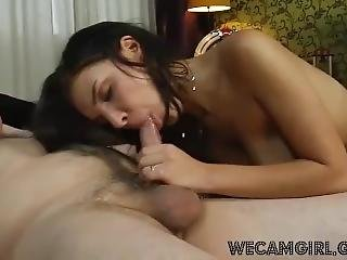 Beautiful Hot Girl Fucking With Old Man