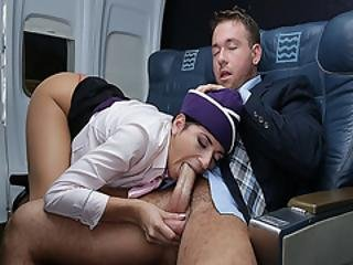 Nikki Knightly Giving Chad White A Mouthful Head