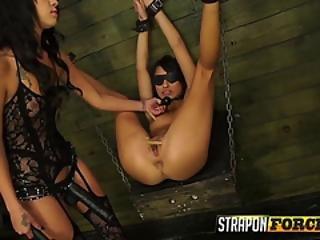 Huge Strapon For Sluts Wet Cunt