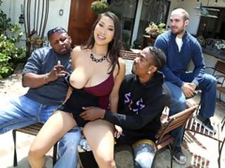 Husband Shares His New Wife Sharon Lee With Her Black Friends - Cuckold Sessions