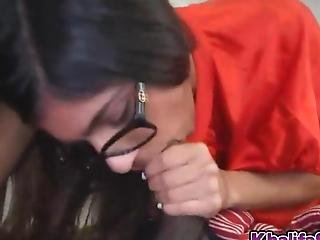Sweet Hottie Mia Khalifa Having A Mouthful