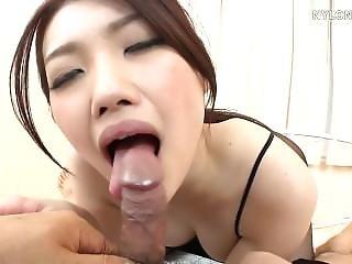 Asian Ballerina Dancer In Pantyhouse Fucked