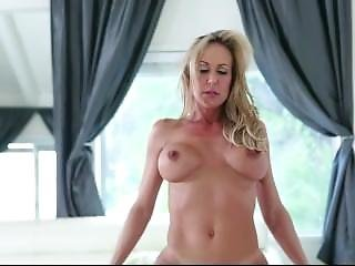 Big Tits Stepmom Rides Young Dick Then He Cums Into Her Mouth