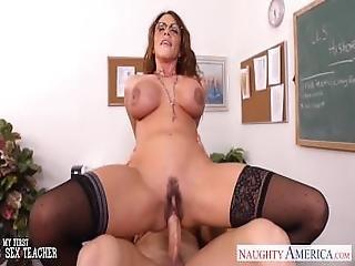 Sex Teacher Alura Jenson Gets Big Tits Young Fucked