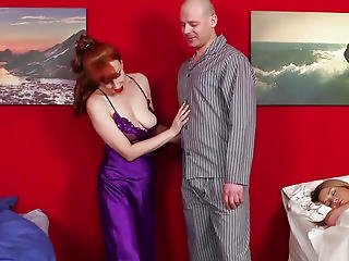 Redhead Cfnm Aged Makes Man Bust Load