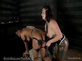 Big Booty Electric Latex Babes