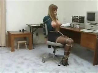 Darla Crane Secretary Bondage (good Quality)