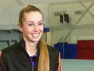 dutch teen facial - Dutch Gymnast Verona van de Leur porn 2015