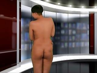 Naked News Sandra Interview.