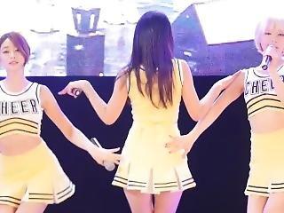 fuck Miniskirt cheerleaders high heels