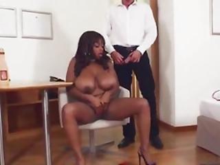 French Big Ass Ebony Pornstar