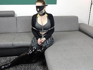 Escape Challenge #4 - Level 10/10 (impossible) - Poor Gagged Cuffed Slave