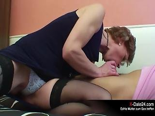 Older Woman Fuck Young Man
