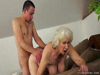 Granny Norma Comes Back More Horny Than Ever