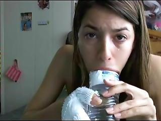 pullo, brunetti, syväkurkku, Teini