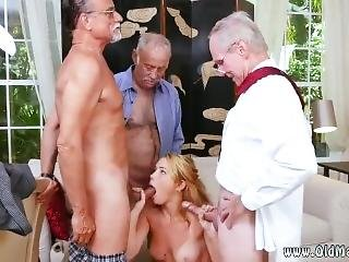 Hot Milf Frannkie And The Gang Tag Team A