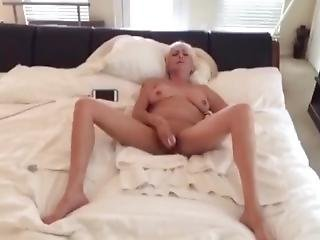 British Milf Plays With Her Self