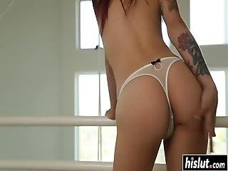 Alyssa Branch Wants To Blow A Dick Before She Starts Riding It