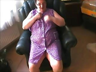 Old And Fat Granny
