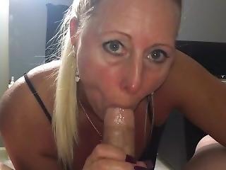 Dirty Blonde Sucks, Fucks, And Creampied!