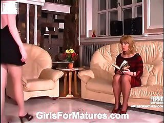 Ethel&nellie Pussyloving Mature In Action
