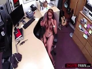 Hot Stripper Pawns Bfs Gun And Her Pussy