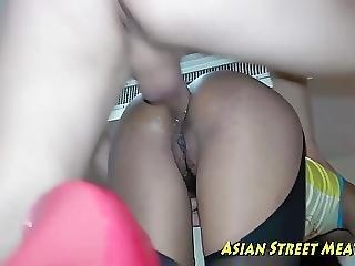 ano, asiático, babe, Adolescente, Adolescente Anal, thai
